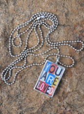 You Are Loved Necklace 2