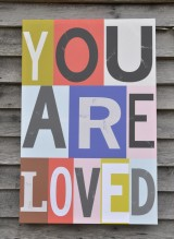 You Are Loved pastel