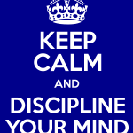 discipline the mind1